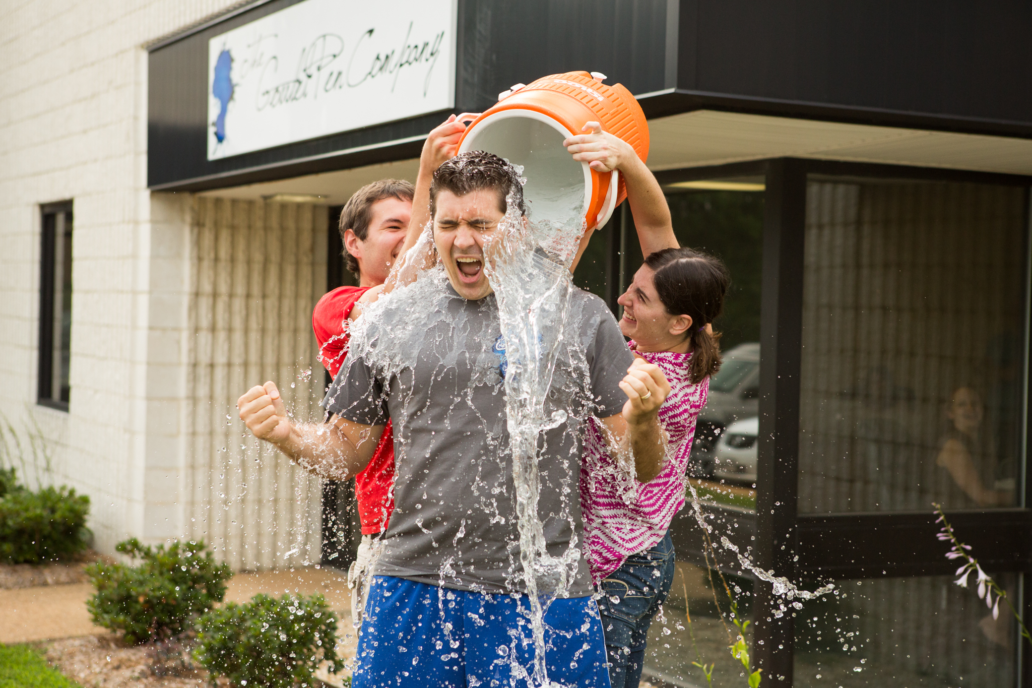 Brian Goulet Accepts The Als Ice Bucket Challenge Goulet